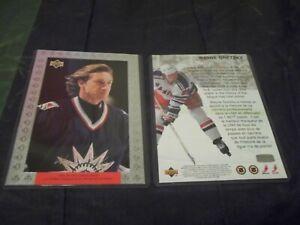 1997-98 McDonalds Jumbo Oversized 5X7 Redemption Wayne Gretzky Rangers - nrmtmt