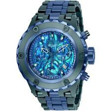 Invicta Men's Reserve Subaqua 25910 Green/Dark Blue Abalone Chronograph Watch