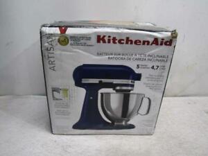 KitchenAid KSM150PSBU Artisan Tilt-Head Stand Mixer 5 Quart Cobalt Blue