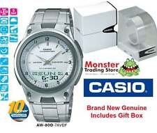 AUSSIE SELLER CASIO AW80D AW-80D-7AV AW80 DUALTIME TELEMEMO 12 MONTH WARANTY