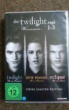 TWILIGHT SAGA 1-3 DVD