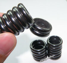 Wholesale Lots 20pcs Genuine Magnetic Hematite Health Jewelry Rings