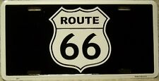 Aluminum License Plate Get Your Kicks on Route 66 NEW The Mother Road Shield