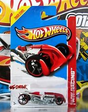 Hot Wheels 2013 #146 RAT-IFIED® MATTE RED+CHROME,RED RIMS,BLACK OH5SP,METAL BASE