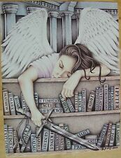 """""""SLEEPING ANGEL"""" Limited Lifetime Edition Art Print by C Root, Prison Inmate"""