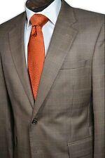 $995 Jos A Bank Silk Blend Brown Orange 2 Button  Sport Coat size 39R C168