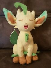 "Official Tomy Pokemon Leafeon 8"" Plush Soft Toy - Evolution of Eevee VGC"