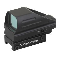 VictOptics Hunting 1x22x33 Red Green Dot Sight Scope 20mm Picatinny Weaver Rail