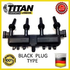 IGNITION COIL FITS FOR PEUGEOT 206 1.1 1.4 1.6 Rail PACK (BLACK PLUG) 2526208A