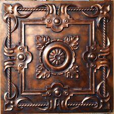 Ceiling tiles Archaic coppery faux tin backdrop cafe club panel PL29 10tile/lot