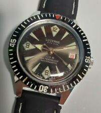 Vintage Lucerne 5th Ave. Dive Watch