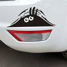 Hot Selling Peeking Monster Car Stickers Black Peep Funny For Funny Car 19*7cm