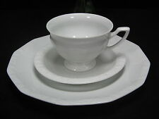 Altes 3tlg. Rosenthal classig Maria weiss Porzellan Kaffeegedeck Gedeck Tasse