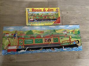 1993 Rosie And Jim Ragdoll Boat Floor Puzzle