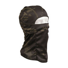 MIlitary Army Tactical Airsoft One Hole Balaclava Hood Mask Hat Multicam Black