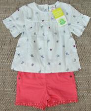 Neu! Set aus Bluse und Shorts, Gr. 86 von Topomini, pink / weiß..
