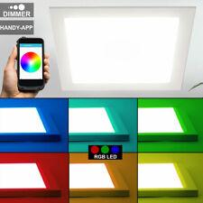RGB LED Panel weiß FARBWECHSEL Decken Einbau Lampe DIMMBAR Wifi APP IOS Android