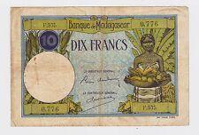 New listing Madagascar - 10 Francs 1937-47