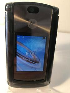 Motorola RAZR V8 - Black (Orange Network) Mobile Phone Flip Fold - Fully Working