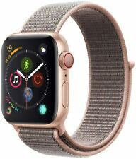 Apple Watch Series 4 44mm Gold Aluminum & Ceramic Case GPS Pink Sand Sport