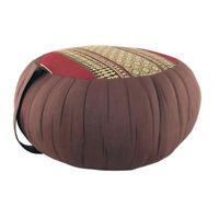 Zafu Meditation/Yoga Cushion with Carrying Handle - Maroon (DM19)