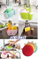 Kitchen Organiser Sink Hanging Caddy Basket Dish Cleaning Sponge Holder Scrubber