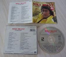 CD ALBUM 15 EME ANNIVERSAIRE MIKE BRANT 18 TITRES BEST OF