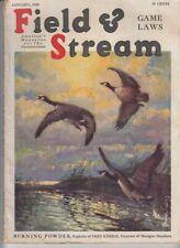 Vintage  JANUARY 1930 FIELD & STREAM magazine hunting Henry C. Murphy cover