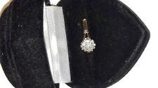 Valentine's Day Gold Round Fine Diamond Rings