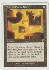 1x TEFERI'S PUZZLE BOX Magic The Gathering MtG Rare Artifacts 7th Edition LP