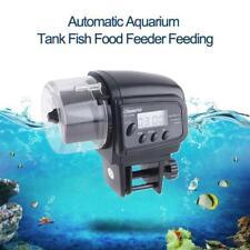 Automatic Fish Food Feeder LCD Auto Timer Pet Aquarium Tank Pond Tank AU Stock