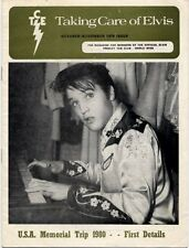 Elvis Presley Fan Club Magazine Oct/Nov 1979