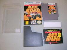 SUPER OFF ROAD (NES Nintendo 8-Bit w/ clear box) Complete CIB