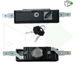 GENUINE Gliderol Roller Door Garage Door Lock New Style With 2 Keys