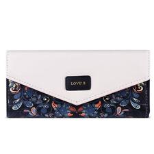 Porte-monnaie et portefeuilles enveloppes noirs en cuir pour femme