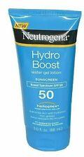 Neutrogena Hydro Boost Gel Moisturizing SPF 50 Sunscreen Lotion 3 oz Exp10/2020