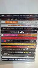 LOTTO STOCK 16 CD MUSICALI COLONNE SONORE DI FILM MOVIE SOUNDTRACK PACK