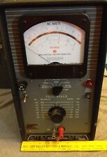 Vintage Used Ballantine Laboratories R-A-P Voltmeter - Model 321 - Powers Up VGC