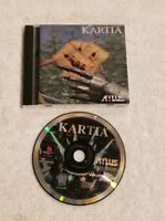 Kartia: The Word of Fate Sony PlayStation 1 PS1 DISC AND MANUAL