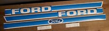 Ford 1210 Tractor Hood Decal Set