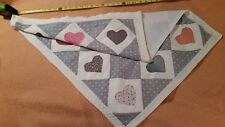 Vintage Handmade Baby Lap Quilt made in the 1960's