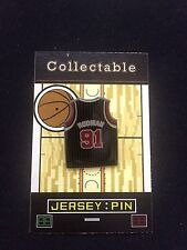 Chicago Bulls Dennis Rodman lapel pin-Classic Hardwood Collectable-The WORM