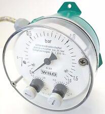 WILO DDM 16 Differenzdruck Manometer Druckwächter Druckmesser 0-1,6bar 110461197
