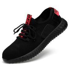 Mens Womens Lightweight Steel Toe Safety Work Shoes Mesh Running Sneakers Shoes