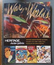 Heritage Vintage Movie Poster Auction Catalog November 14-15 2006