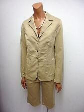 Einreihige Damen-Anzüge & -Kombinationen aus Baumwollmischung mit Jacket/Blazer und Unifarben