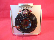 Objektiv Lens Carl Zeiss Jena TESSAR 6,3/12 cm mit Adap. TECHNIKA 80x80mm für