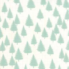 MODA Fabric ~ WINTERBERRY ~ by Kate & Birdie (13143 12) Snow Mint - by 1/2 yard