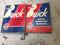 1957 Buick All Series Service Shop Workshop Repair Manual OEM Set Chassis Body