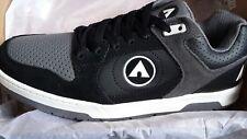 NEW Mens Airwalk Throttle Skate Shoe Trainer Sneaker Footwear UK 9 Black/Grey